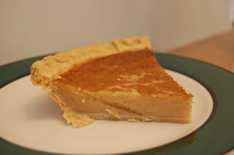 tarte de feijão