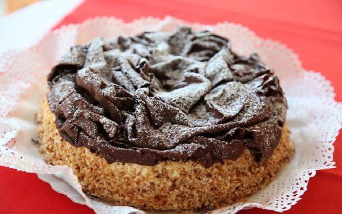 Torta de Chocolate com Nutella