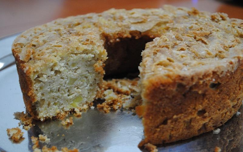 bolo rico de maçã