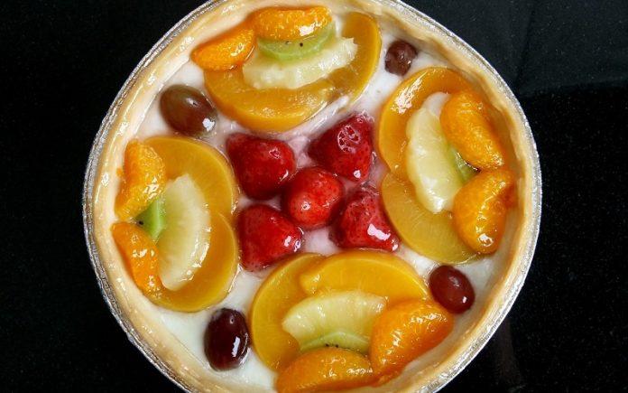 tarte de natas gelada