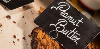 Brownie de chocolate e manteiga de amendoim