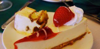 Cheesecake de ricota e goiabada
