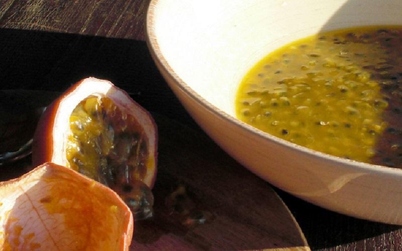 Mousse de Maracujá com Tofu