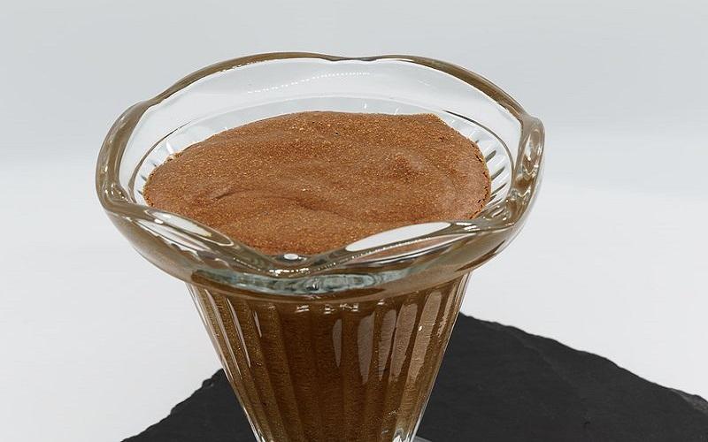 Mousse de chocolate aveludada