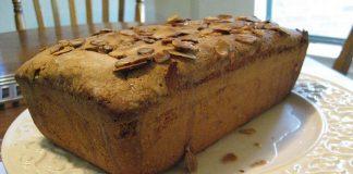 Pound cake com manteiga de amendoim