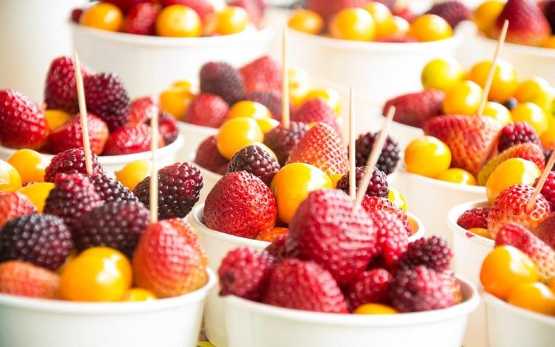 salada de frutas para festas