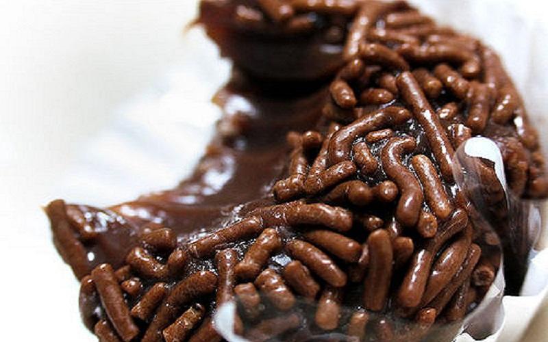 Brigadeiro de chocolate belga