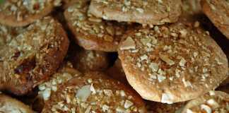 Cookies de amêndoa (vegan)