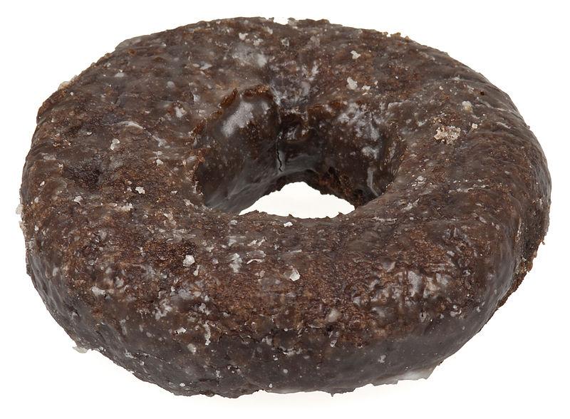 Donuts de chocolate vegan