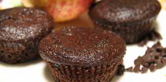 Muffin de Alfarroba vegan