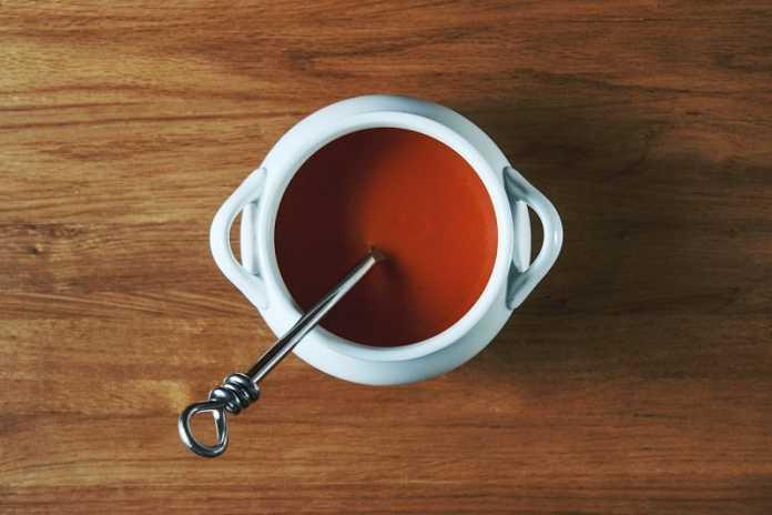 Sopa fria de cereja (Vegan)