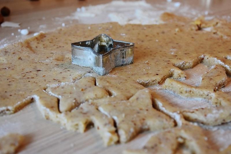 Biscoitos de manteiga e canela