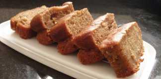 Bolo de batata-doce e coco