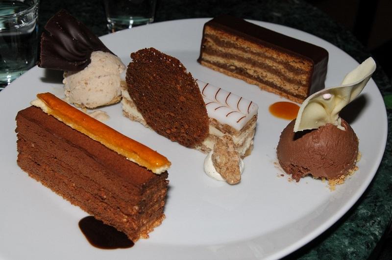 Bolo inglês de chocolate