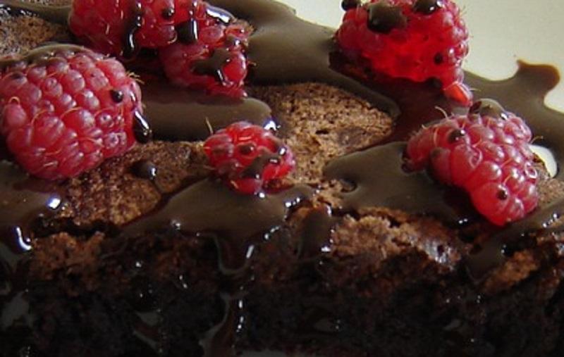 Brownie de Framboesas
