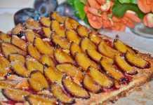 Torta de Ameixa Preta Vegan